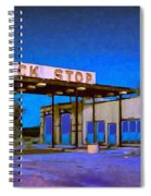 Then They Built The Interstate Spiral Notebook