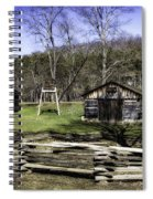Theo Appleby Blacksmith Spiral Notebook