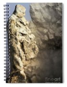 Theodore Roosevelt At Yellowstone Spiral Notebook