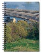 Theodore Roosevelt Bridge, Washington Spiral Notebook