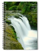 There Are Places Spiral Notebook