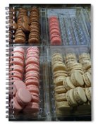 There Goes My Diet In Laduree On The Champs De Elysees Spiral Notebook