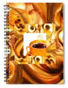 There Is A Coffee At The End Of The Tunnel  Spiral Notebook