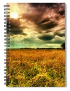 There Is A Sun After The Storm Spiral Notebook