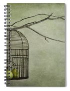 There Is A World Outside Spiral Notebook