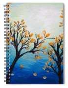 There Is Calmness In The Gentle Breeze Spiral Notebook