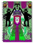 There It Is The Fantasy Panda Hat Spiral Notebook