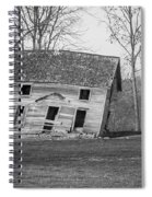 There Was A Crooked House Spiral Notebook