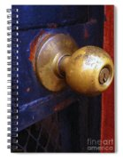 There's A Key Here Somewhere Spiral Notebook