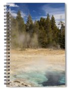 Thermal Landscape Spiral Notebook