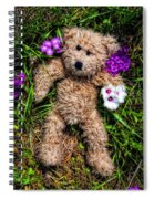 These Are For You - Cute Teddy Bear Art By William Patrick And Sharon Cummings Spiral Notebook