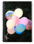 They Are Floating Spiral Notebook