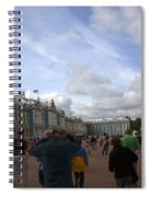 They Come To Catherine Palace - St. Petersburg - Russia Spiral Notebook