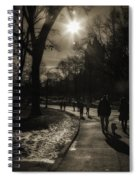 They Come To Central Park Spiral Notebook