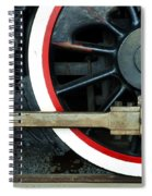 They Drive The Wheels Spiral Notebook
