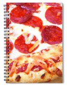 Thick Crust Peperoni Pizza Spiral Notebook