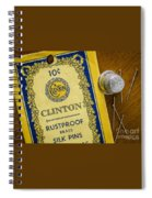 Thimble And Pins Spiral Notebook