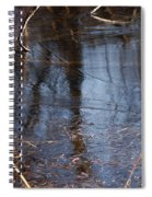 Thin Ice Of A New Day Spiral Notebook