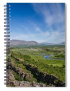Thingvellir Iceland Spiral Notebook