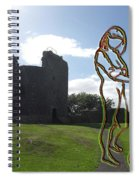 Thinking About The Castle Spiral Notebook