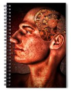 Thinking Man Spiral Notebook
