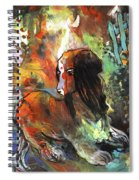 Thinking Of Tolere Spiral Notebook
