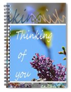 Thinking Of You 2 Spiral Notebook