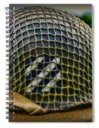 Third Infantry Division Helmet Spiral Notebook