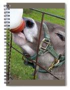Thirsty Baby Spiral Notebook