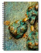 Thirsty Faces Spiral Notebook