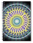 Thirteen Stage Alchemy Kaleidoscope Spiral Notebook