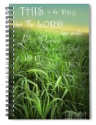 This Is The Day Spiral Notebook
