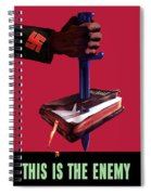 This Is The Enemy Spiral Notebook