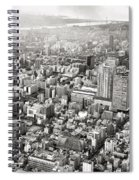 This Is Tokyo In Black And White Spiral Notebook