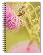 Thistle And Friend Spiral Notebook