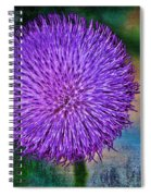 Thistle Spiral Notebook