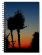 Thistle Spiral Notebook