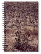 Thistle Field Spiral Notebook