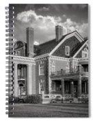 Thistle Hill Bw Spiral Notebook