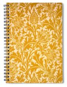 Thistle Wallpaper Design, Late 19th Spiral Notebook