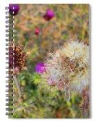 Thistles  Spiral Notebook