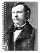 Thomas Benton Weir(1838-1876) Spiral Notebook