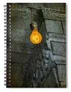 Thomas Edison Lightbulb Spiral Notebook