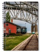 Thomas Edison Museum And Rr Track Spiral Notebook