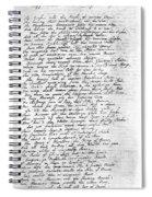 Thomas Gray: Elegy, 1750 Spiral Notebook