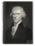Thomas Jefferson Spiral Notebook