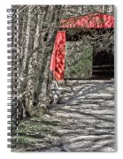 Thomas Mill Covered Bridge Spiral Notebook