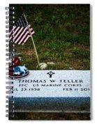 Thomas W. Teller Spiral Notebook