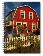 Thor Town Hostel Spiral Notebook