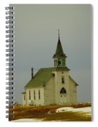 Those Old Hymns On A Snowy Day Spiral Notebook